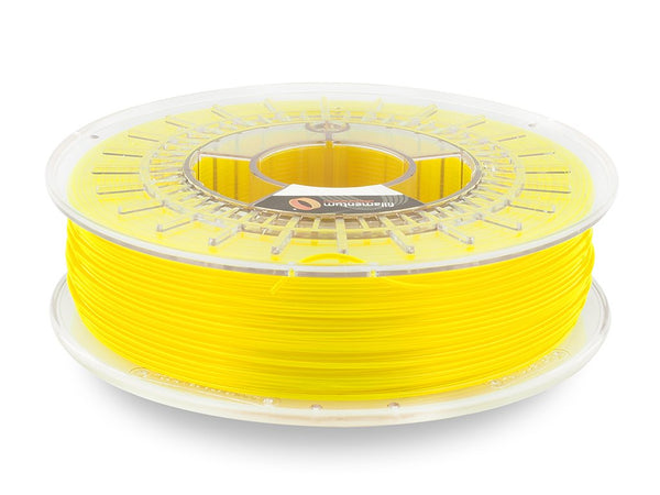Fillamentum CPE (Modified PETG) HG100 Neon Yellow Transparent 1.75mm X 750g