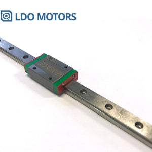 LDO Linear Rail MGN12H With One Carriage In 300/370/400/450/500/700mm Lengths