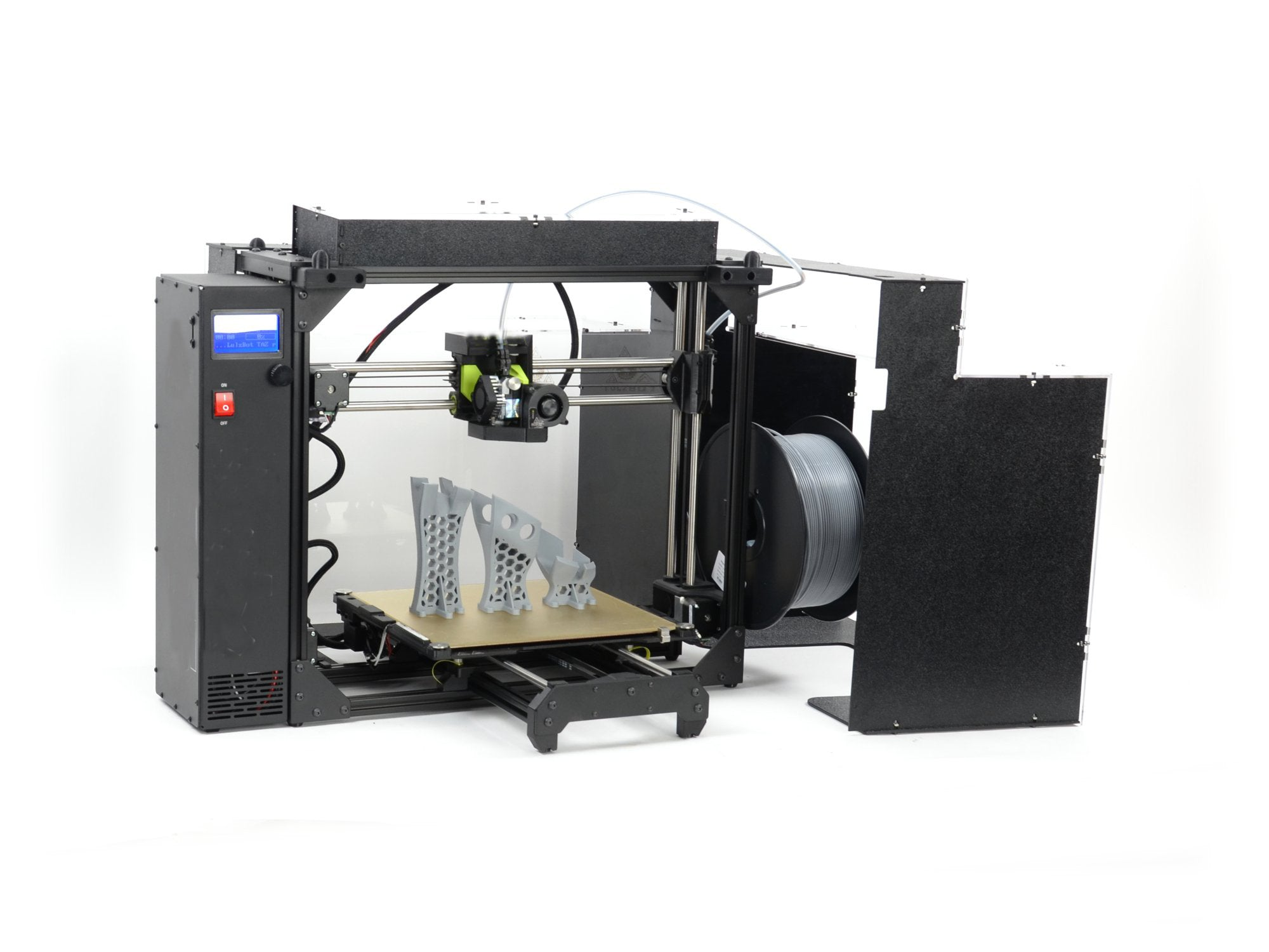 LulzBot® TAZ Pro and Workhorse Compatible ABS+ Safety Enclosure by Printed Solid