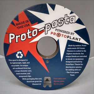 Proto-Pasta High Temperature Polycarbonate-ABS Alloy 2.85mm X 500g Natural