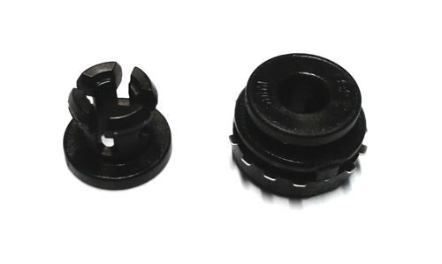 Embedded Bowden Coupling for Plastic  1.75