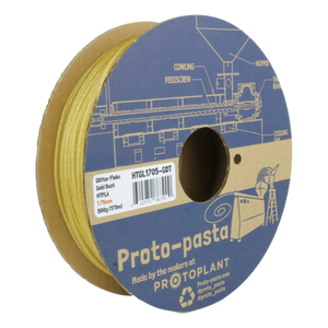 Proto-Pasta Gold Dust Glitter Flake HTPLA 1.75mm X 500g