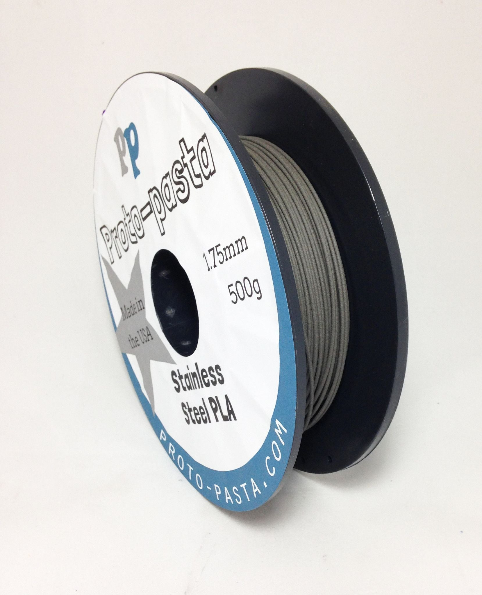 Proto-Pasta Stainless Steel PLA 1.75MM x 500g