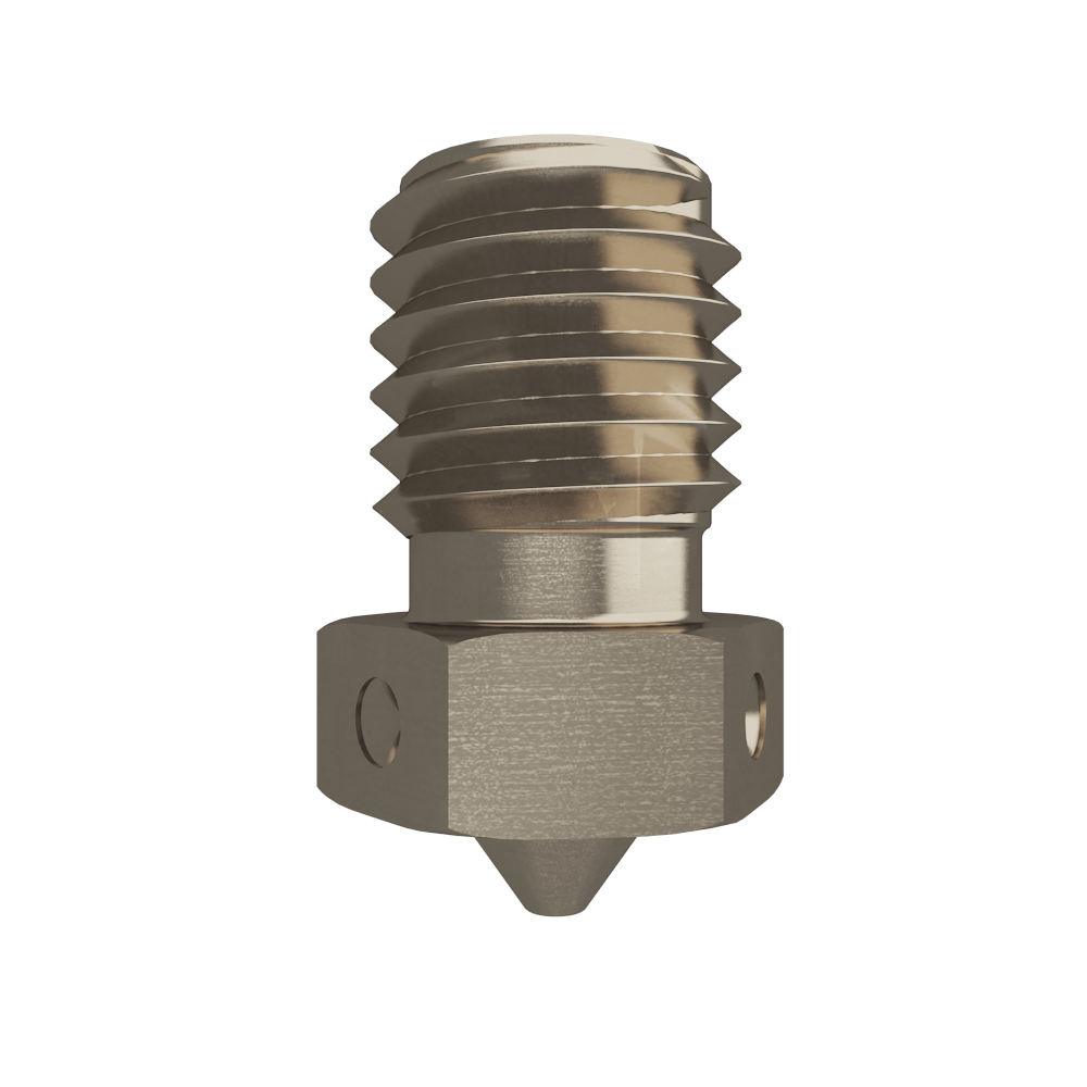 E3D V6 Nozzle - Nickel Plated Copper - 1.75mm