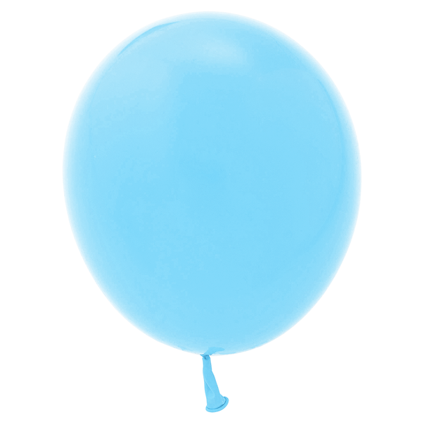 "11"" Solid Latex Balloons - Blue"
