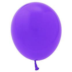 "11"" Solid Latex Balloons - Violet"