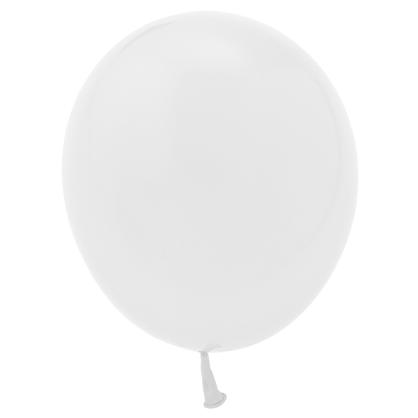"11"" Solid Latex Balloons - White"