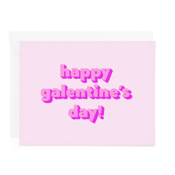 Happy Galentine's Day Card