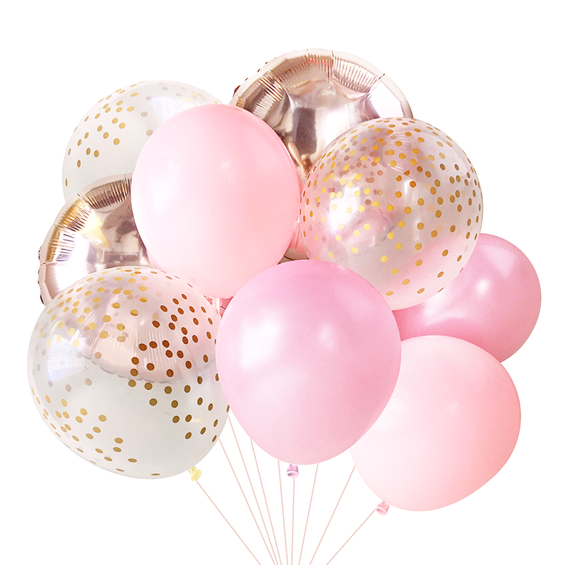 Baby Pink Balloon Bouquet