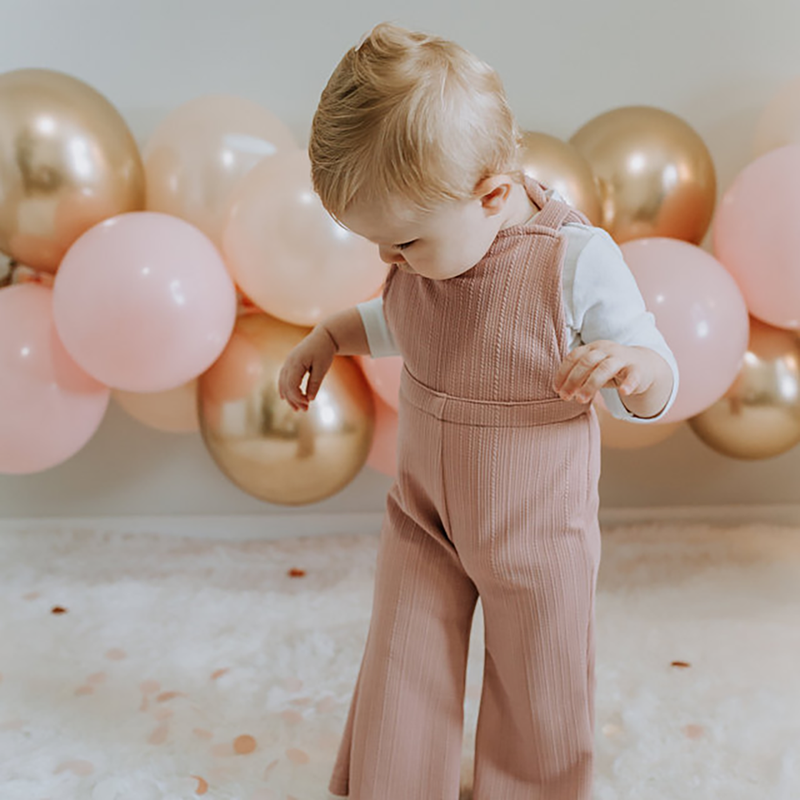 Balloon Garland - Pink & Gold