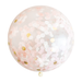 Giant Confetti Balloon with Tassels - Blush & Gold
