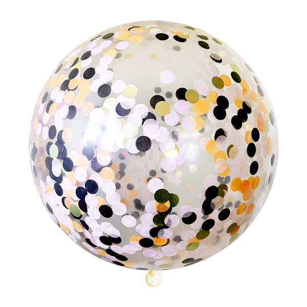 Halloween Confetti Balloon