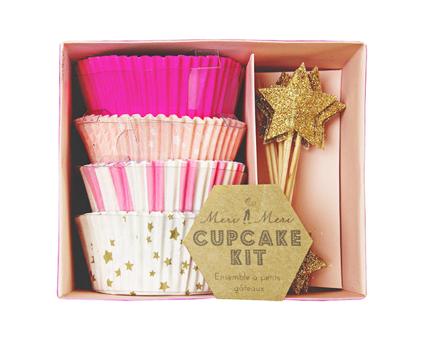 Toot Sweet Pink Cupcake Kit by Meri Meri