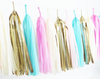 Cotton Candy Tassel Garland Kit
