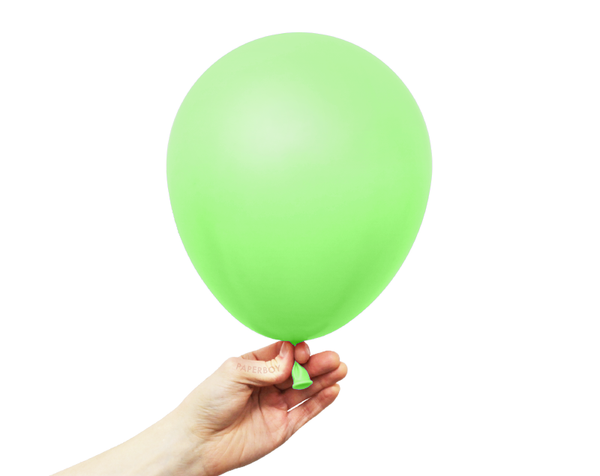 "11"" Solid Latex Balloons - Lime Green"