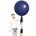Giant Balloon with Tassels - Navy, Blush & Rose Gold