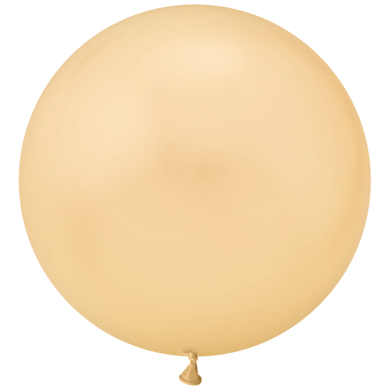 "Jumbo 30"" Round Latex Balloon - Gold"