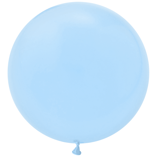 "Jumbo 36"" Round Latex Balloon - Light Blue"