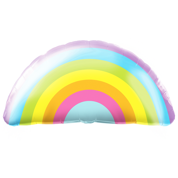 Pastel Rainbow Balloon Shape - 36""