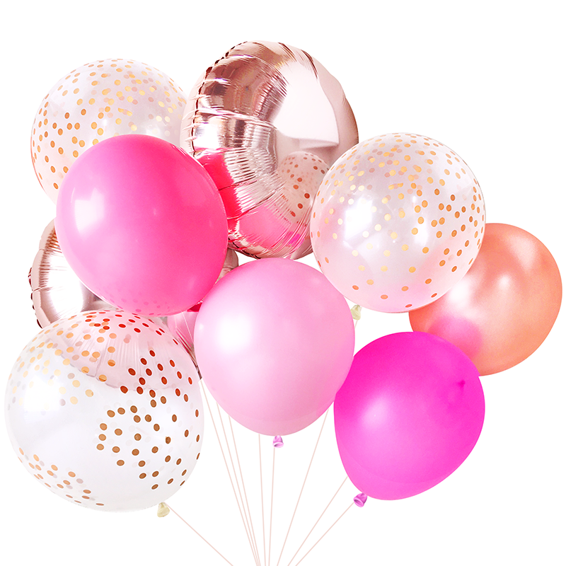 Pink Balloon Bouquet Paperboy