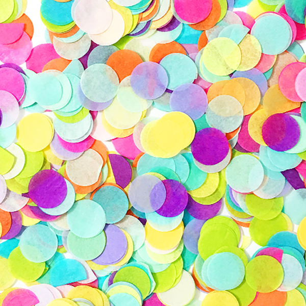 Rainbow Confetti Mix