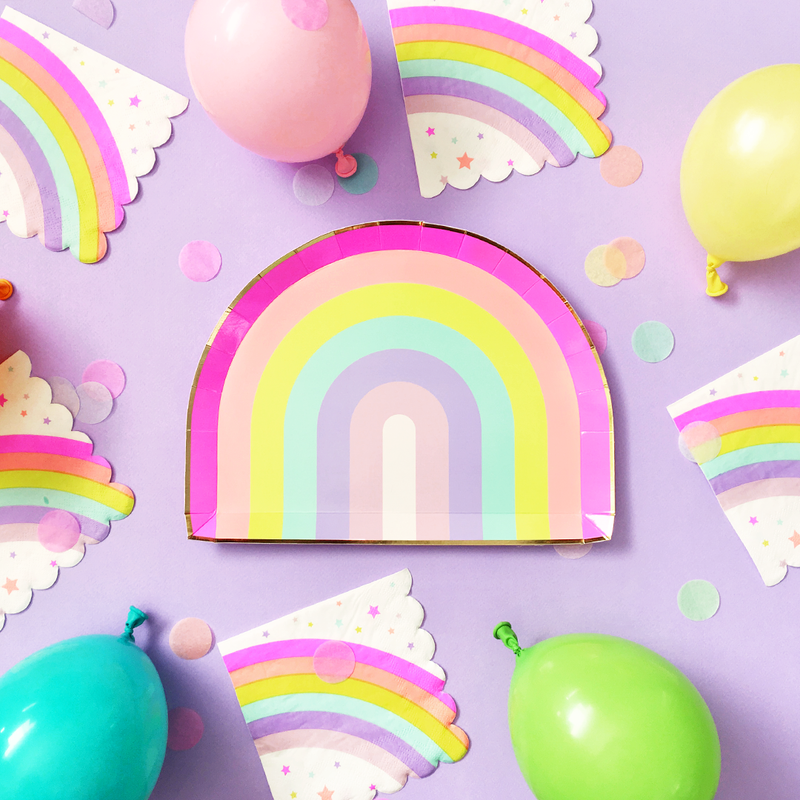 Pastel Rainbow Confetti Mix