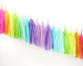 Neon Rainbow Tassel Garland Kit