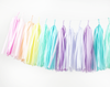 Pastel Rainbow Tassel Garland Kit