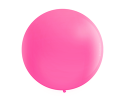 "Jumbo 36"" Round Latex Balloon - Rose Pink"