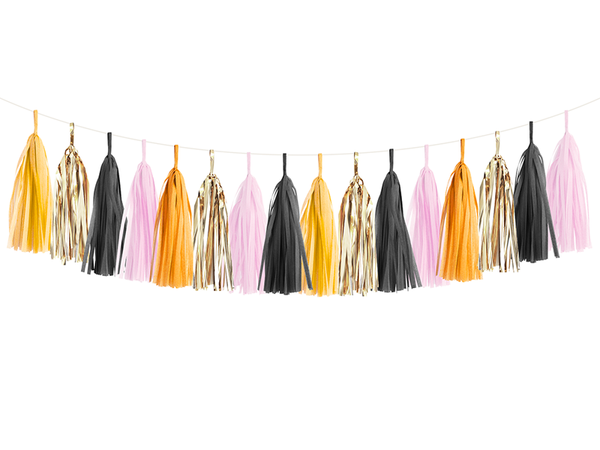 Halloween Tassel Garland Kit