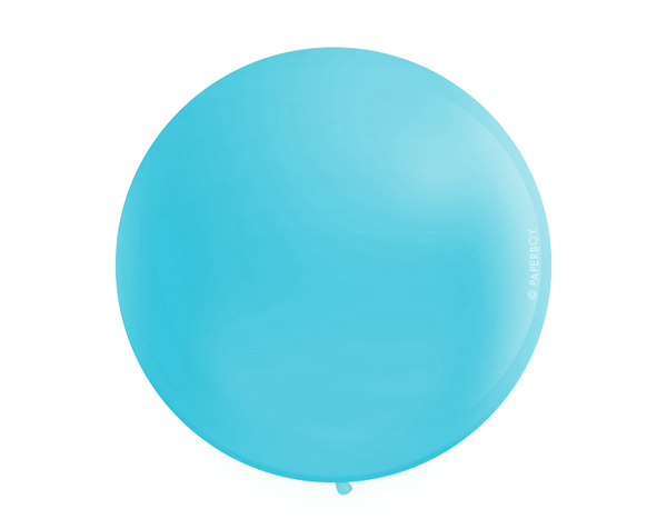 "Jumbo 36"" Round Latex Balloon - Peacock Teal"