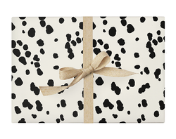 Dalmatian Black & White Wrapping Paper