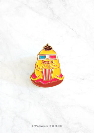 Movie Time Pin