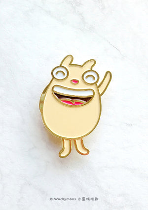 Lofing Hello Brooch