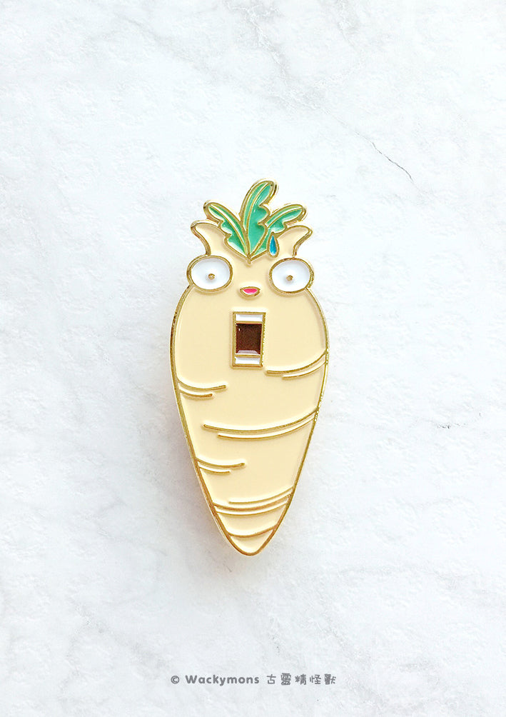 Monster Carrot Brooch