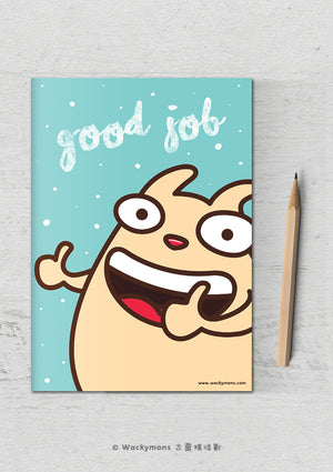 Good Job Greeting Card