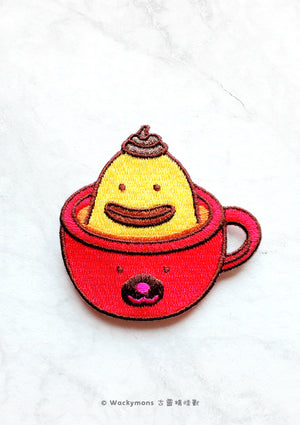 Shiek Coffee Iron On Patch