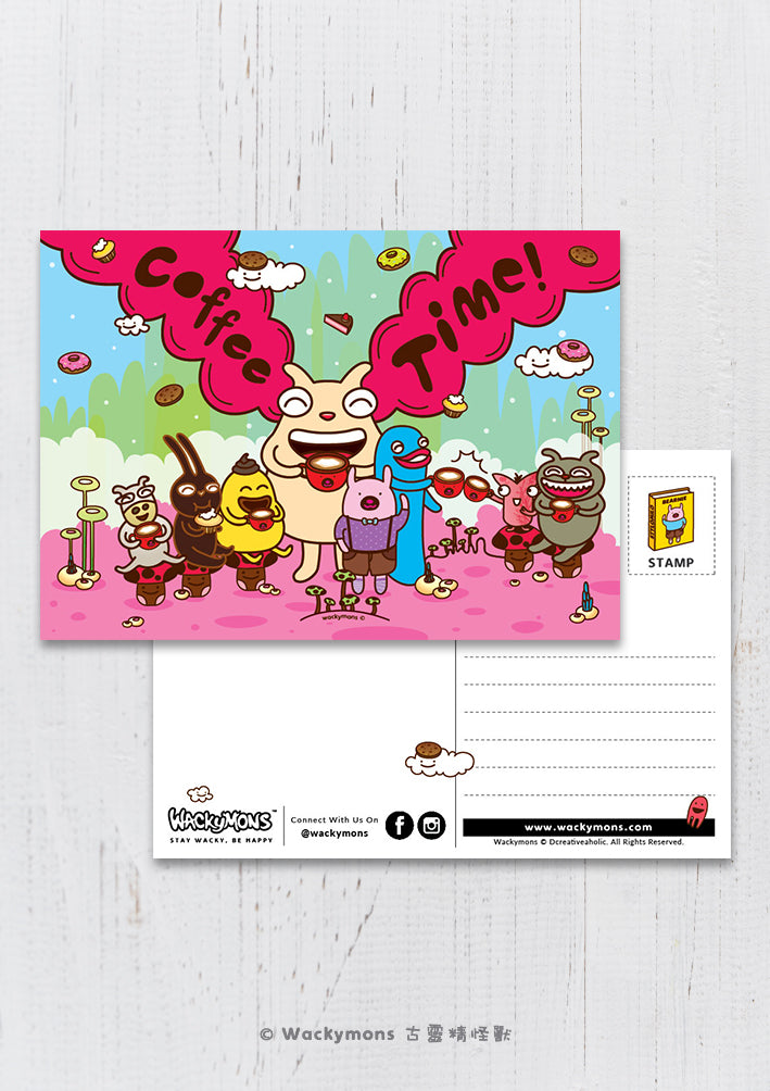 Coffee Time Postcard
