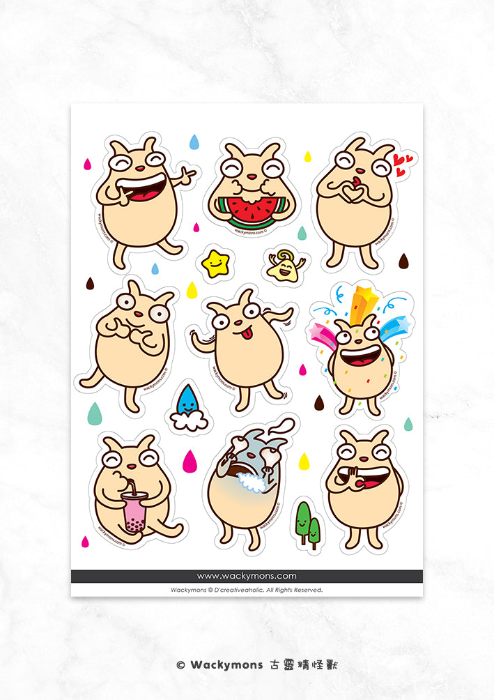 Happy Lofing Sticker