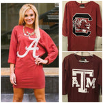 Gameday Couture ON SALE Team Tunic Dress