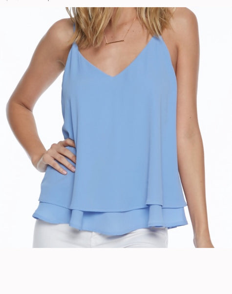 Pixi and Ivy  Layered Criss Cross  Top - Everly Criss Cross Top. ON SALE