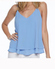 Pixi and Ivy  Layered Criss Cross  Top - Everly Criss Cross Top