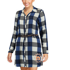Gameday Couture NCAA Women's Plaid Tunic Dress