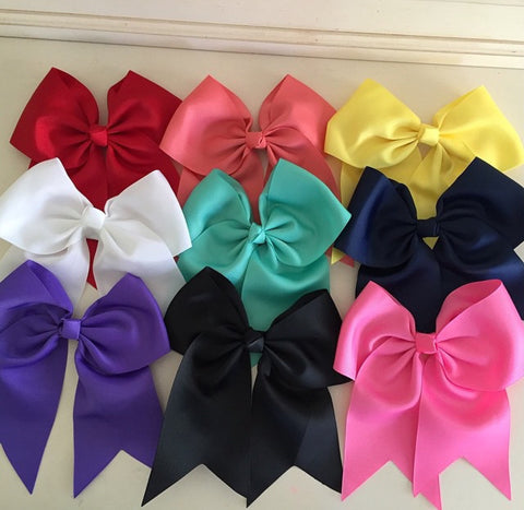 Boutique Hair Bow- Grosgrain Ribbon Bow - A Bow for a Belle