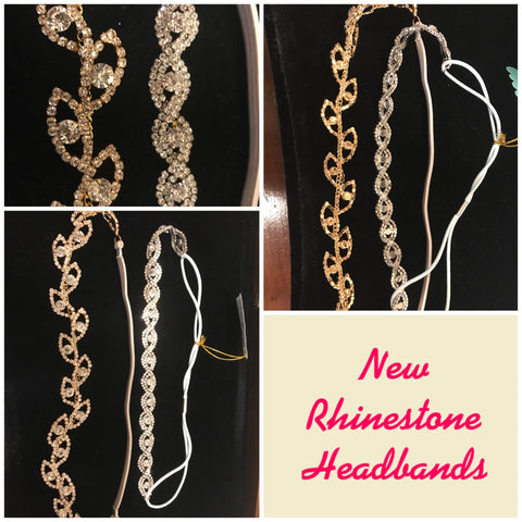 Rhinestone Headbands - Headbands of Hope - Beads and Diamonds