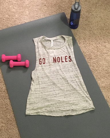 Noles Tee Florida State Work Out Tee