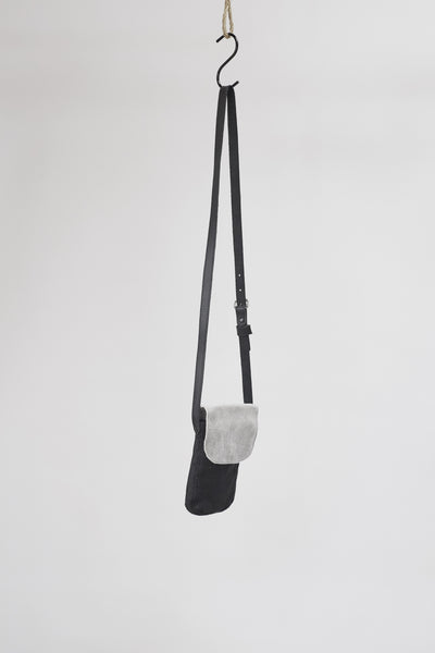 Amy Eliav Yaffa Festival bag 100% Leather Metallic silver. Made in Melbourne Australia & Auckland New Zealand