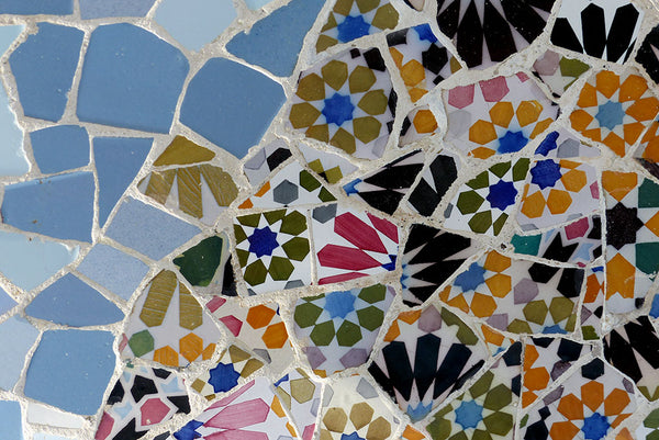 Mosaic at Park Guell