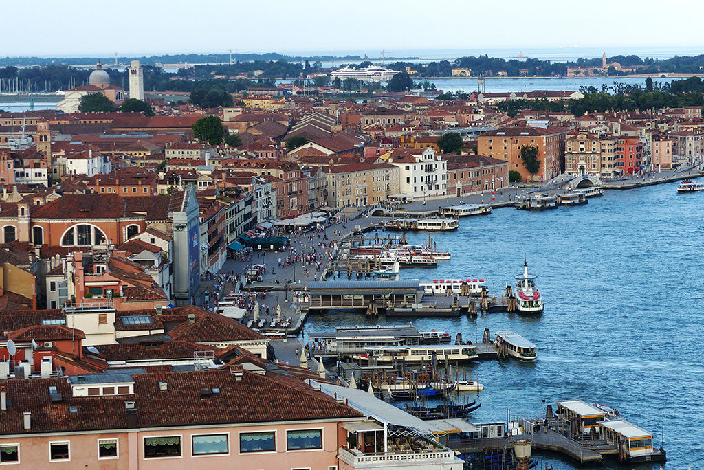 The view of Venice from Campanile di San Marco
