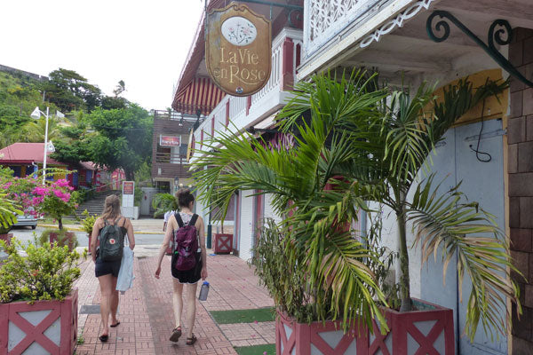 Walking in Marigot, St. Martin